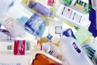 plastics bottles image