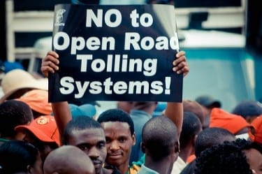 """E-toll postponement """"political expediency"""""""