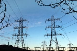 electricity pylons image