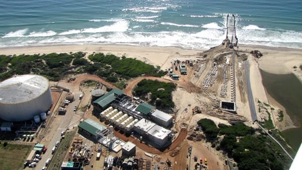 Desalination could boost South Africa's water supply