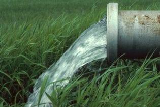 Flowing water pipe image