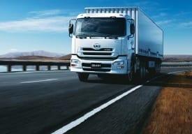 Isuzu truck image
