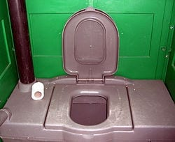 Chemical toilet image