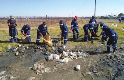 Department of environmental affairs leads clean-up activities after Durban floods