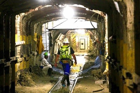 Underground mine image