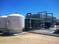 Desalination plant resolves town's water crisis