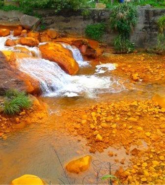 Industrial effluent and mine water