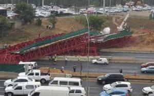 M1 Bridge collapse
