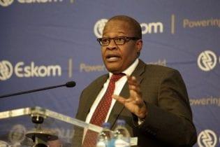 Brian Molefe discusses Eskom's financial results