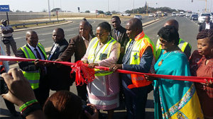 Transport Minister Dipuo Peters opened the Ballito Interchange