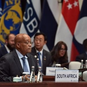 President Jacob Zuma at the G20 Leader's Summit