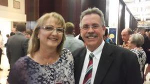 Gavin Clunnie and his wife Rhu