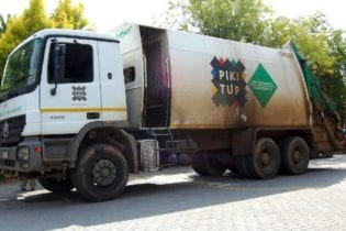 A Pikitup truck. Picture: Pikitup