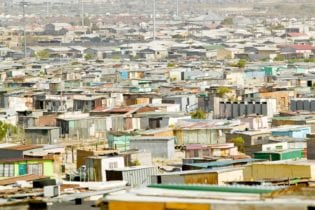File picture of an informal settlement.