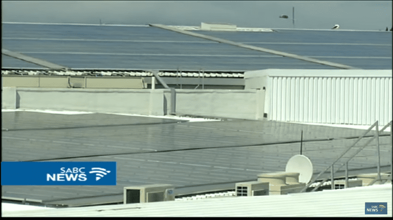 Cape Town shopping mall saves R1m a year after going green