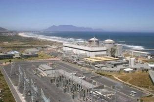 Koeberg power station.