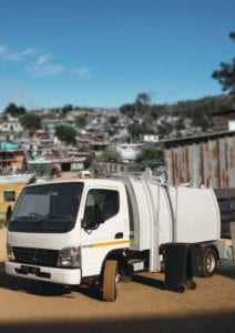 Skip Traders new mini waste collection vehicle