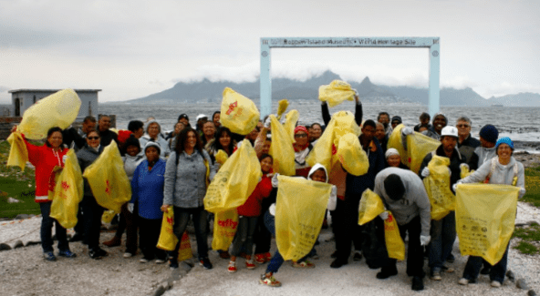 Communities come out to clean the country's coastline