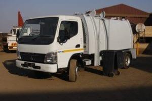 Skip Truck Traders' new mini compactor