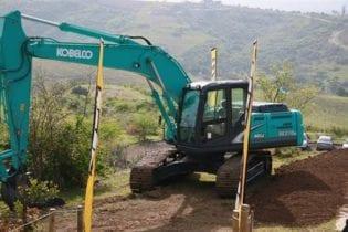 Landfill equipment demonstration