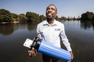 Murendeni Mafumo, founder of Kusini Water