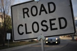 Road closed Nate Grigg Flickr