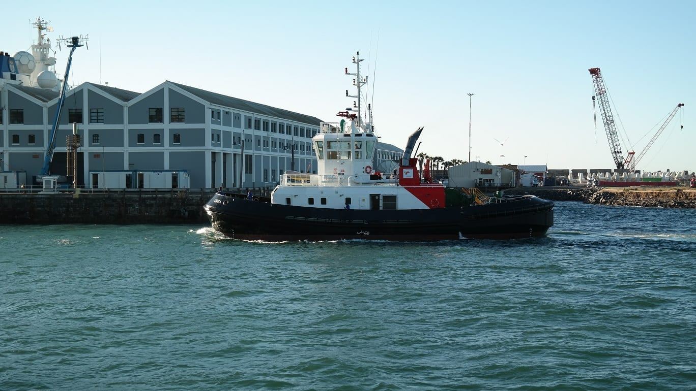 Port of Cape Town takes delivery of new tug | Infrastructure news