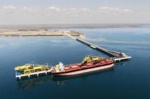 Nacala Port Mozambique. Picture: Vale