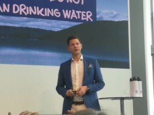 Anders Jacobson a Bluewater top executive