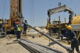 The City of Cape Town recently started drilling to abstract groundwater from the Cape Flats aquifer. Photo: City of Cape Town