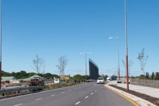 The Upgraded Flanders Drive M14 Bridge Photo: Supplied