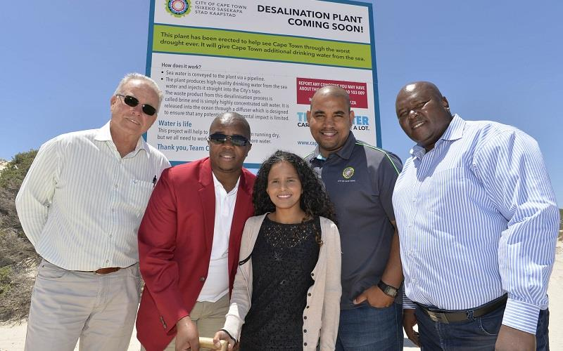 Site preparation underway for Cape's Monwabisi desalination plant
