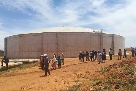 Multi-million rand reservoir brings stable supply to Orange Farm