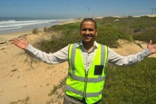 Dr Keith Du Plessis – CDC Manager Project Development at the site identified