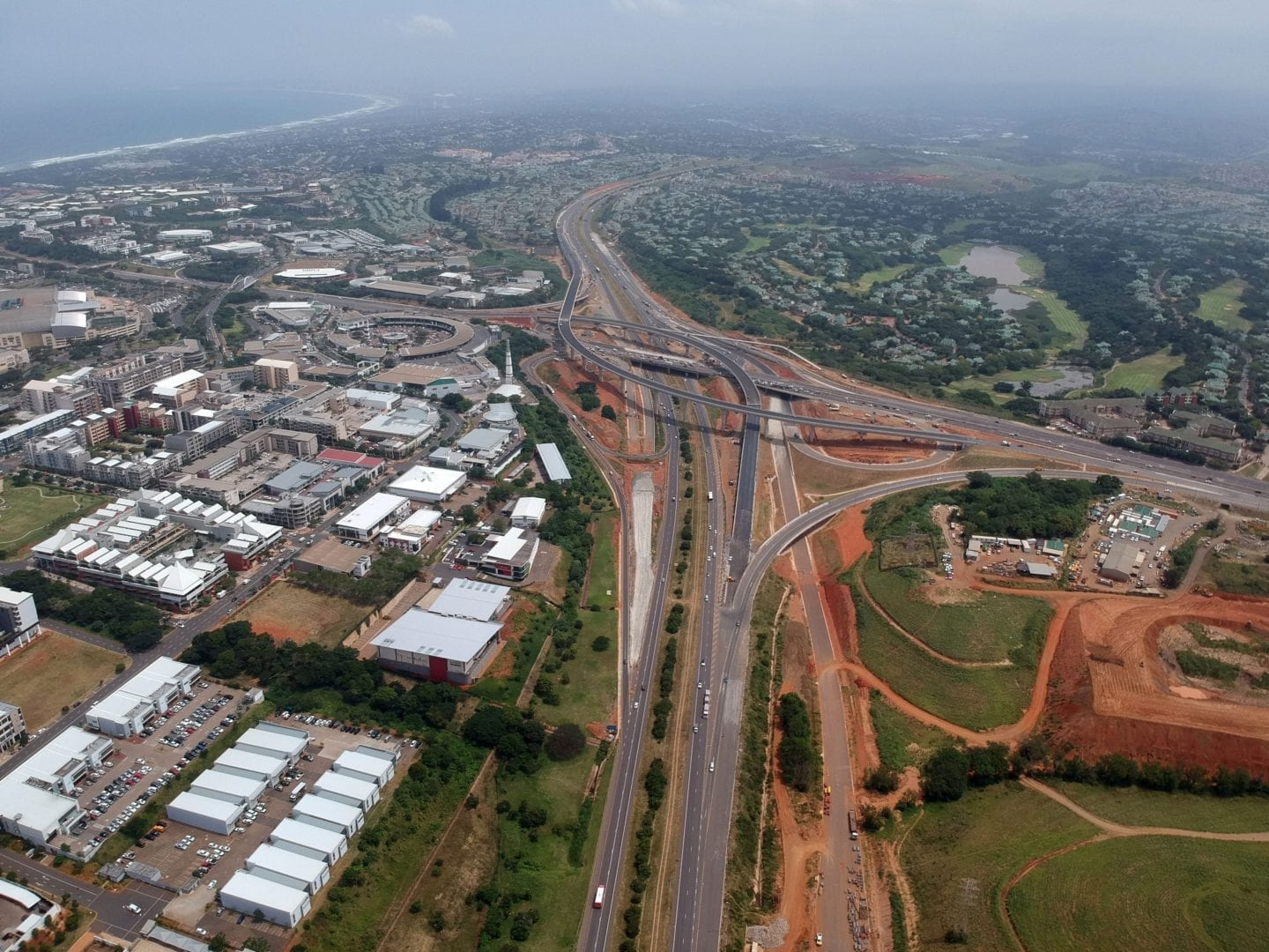 More ramps for Mt Edgecombe Interchange
