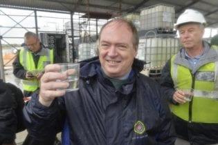 Executive Deputy Mayor, Alderman Ian Neilson Desalination water. Photo: City of Cape Town