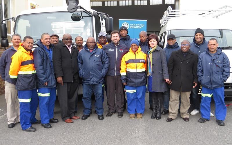 Specialised vehicles keep Cape maintenance on track