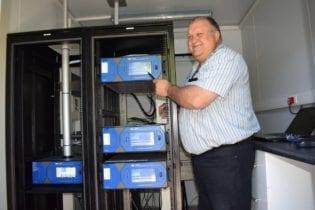 Bobby Marilli Air Quality Practitioner for Ekurhuleni Municipality.