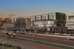 Artist's impression of the future Old Conradie Hospital Development in Pinelands. Source: Western Cape Government