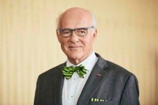 Klaus Endress celebrates his 70th birthday