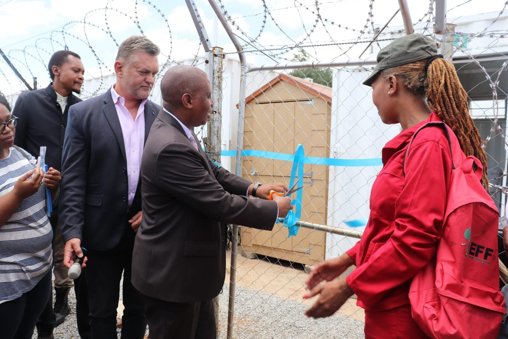 Zamimpilo residents receive access to basic sanitation