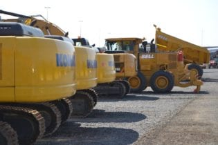 Third quarter sales of mining and construction equipment remain steady