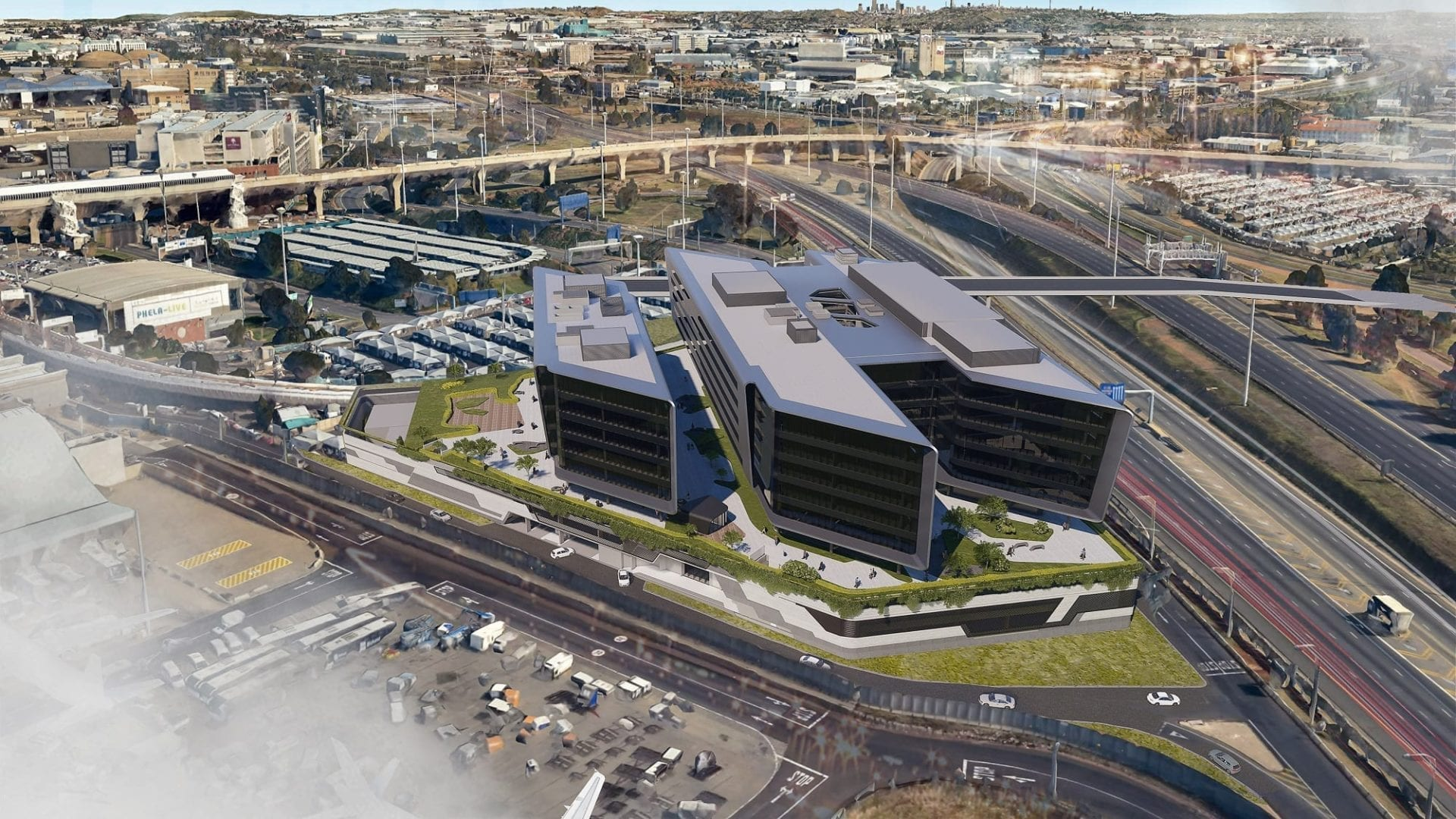 O.R Tambo unveils first phase of mega-mixed use development