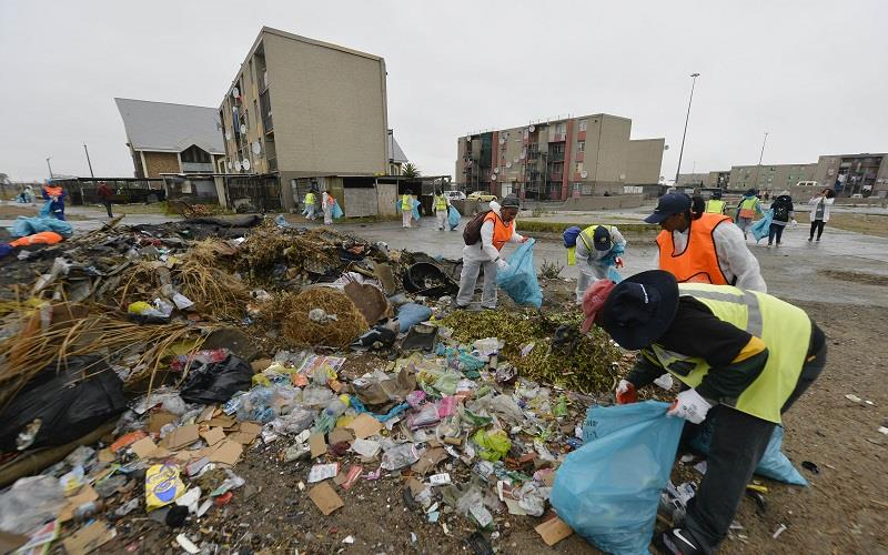 Clean up and recycle SA week has kicked off