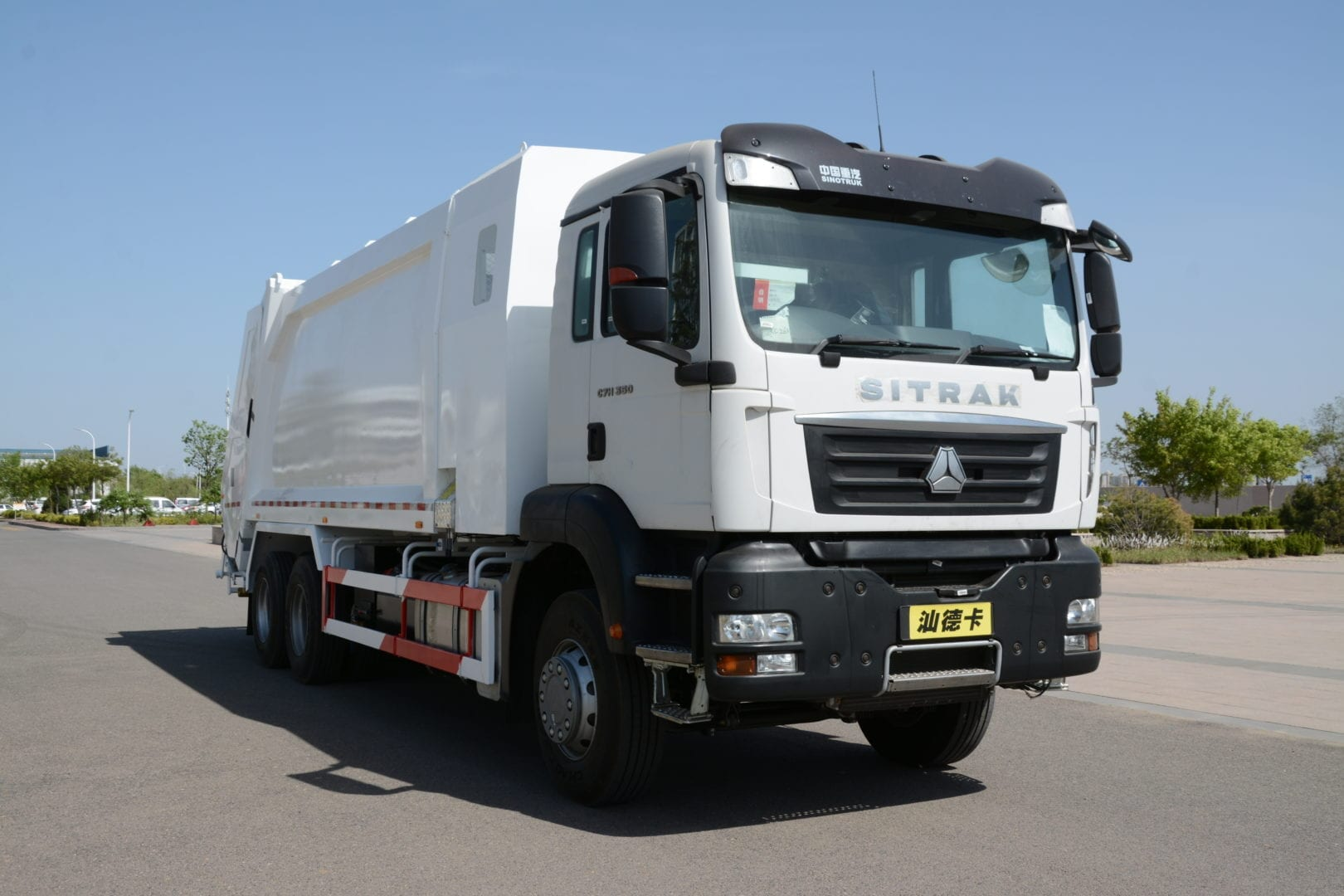 Sinotruk builds the perfect waste truck for Africa