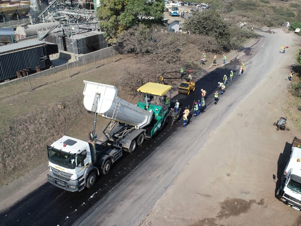 Recycled plastic for South African roads