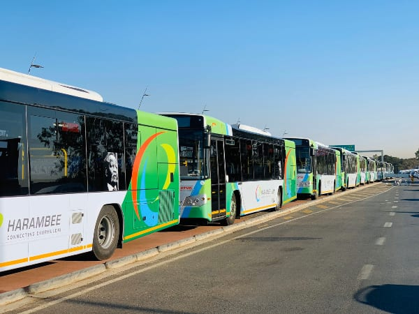 Ekurhuleni opens new route, adds 40 buses to Harambee