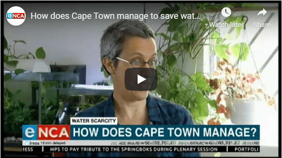 How does Cape Town manage to save water?