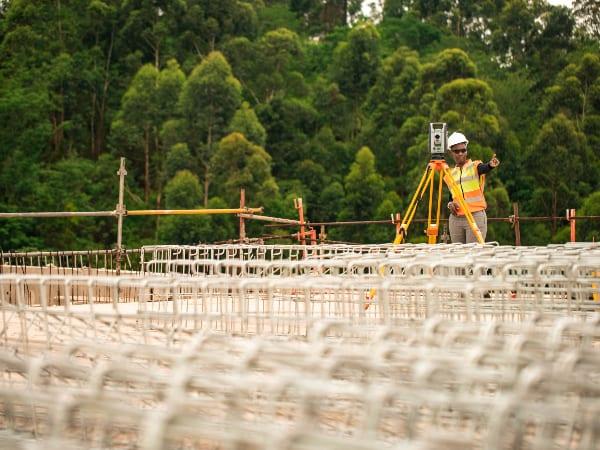 Infrastructure designs start with surveys