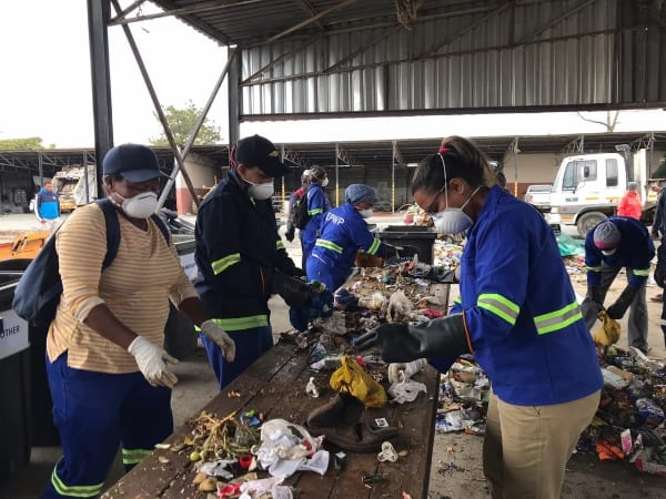 Massive waste sorting operation underway at Breede Valley Local Municipality